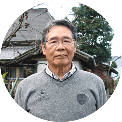 種無し柚子「多田錦」の生産農家、中川さん