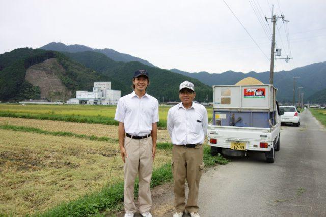 「丹波ひかみ米」を栽培しているこだわり農家の田中さん